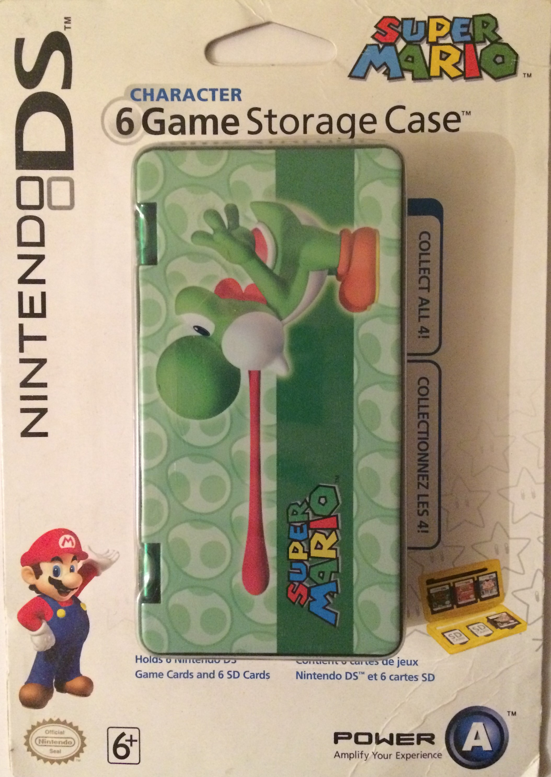 Super Mario Character DS Game Case – Yoshi