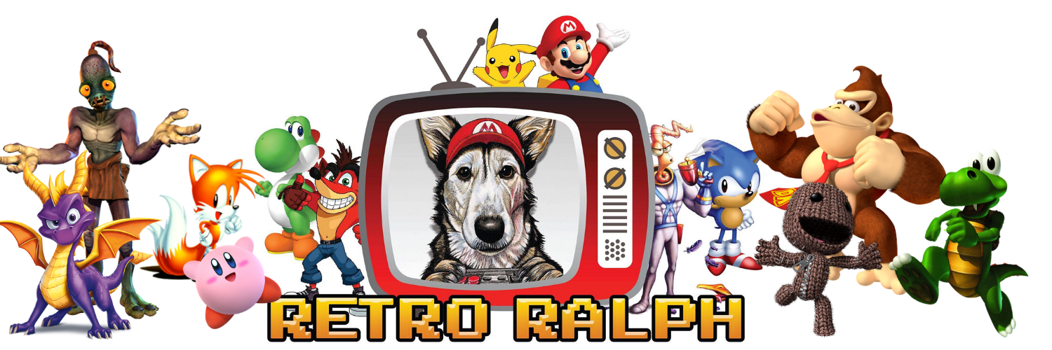 Retro gaming website - Retro Ralph